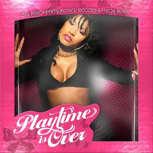 Nicki minaj   playtime is over